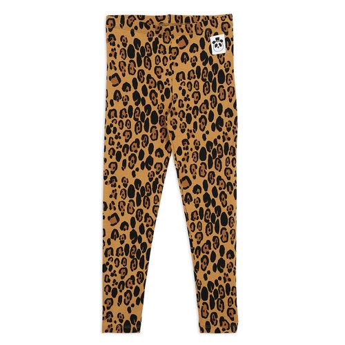 Mini rodini Basic leopard leggings tencel