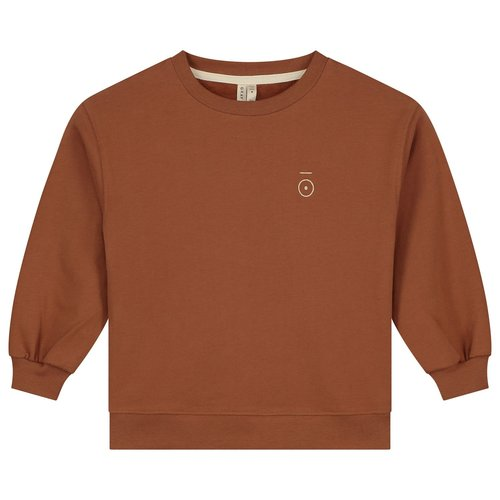 Gray label Dropped Shoulder Sweater Autumn