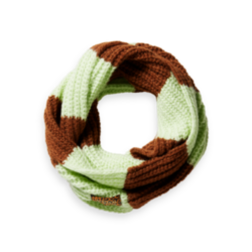 Scotch & Soda Chunky yam dyed tunnel scarf  163088