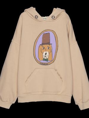 Wander & Wonder Doggy hoodie almond