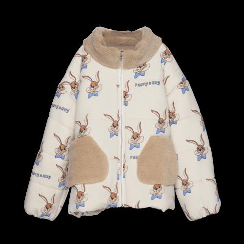 Wander & Wonder Puffer jacket bunny ecru