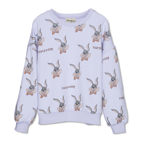 Wander & Wonder Bunny sweatshirt mauve