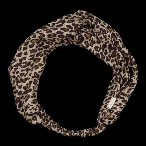 MarMAr CPH Anika Leopard haarband  Sandstone Leo