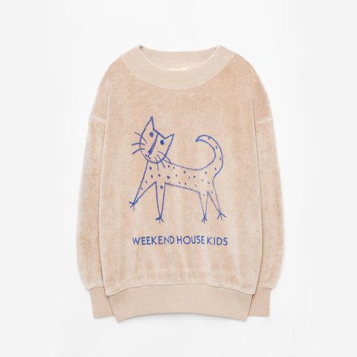 weekend house kids Cat Soft Sweatshirt