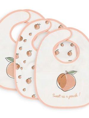 Jollein Slab Peach  3pck
