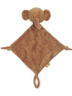 Jollein Knuffeldoekje elephant caramel