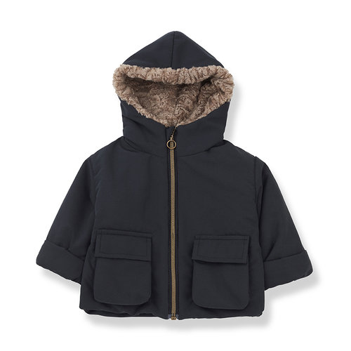 1+ in the family JACK coat charcoal