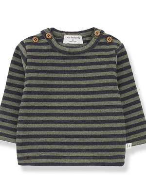 1+ in the family SANDRO t-shirt olive