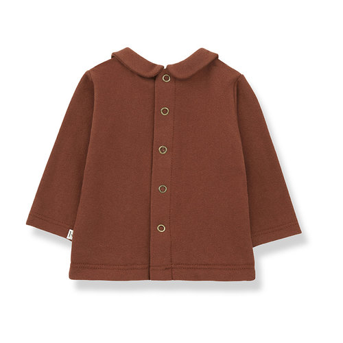 1+ in the family ANGELICA blouse brick