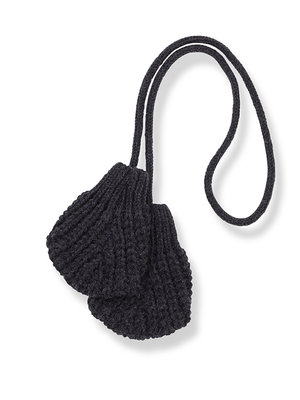 1+ in the family LEDA-bb mittens charcoal