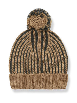 1+ in the family HOMER beanie charcoal