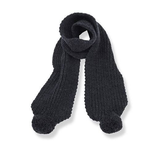 1+ in the family CLYDE-bb scarf charcoal
