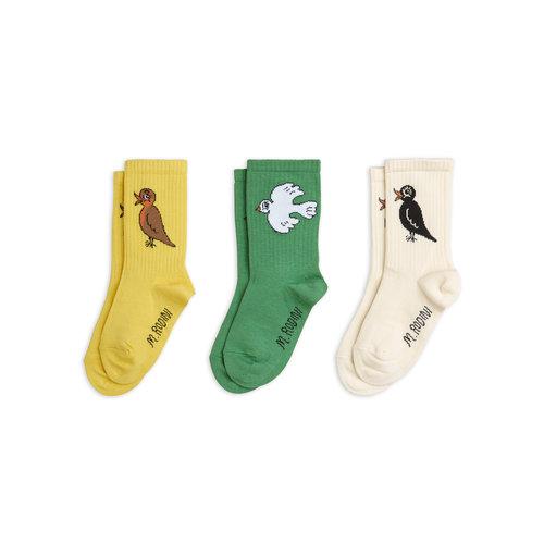 Mini rodini Birdswatching socks 3-pack