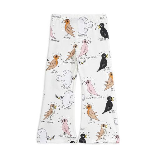 Mini rodini Birdswatching flared trousers