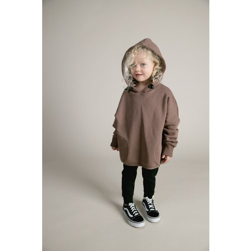 Idigdenim Malla hoodie organic brown