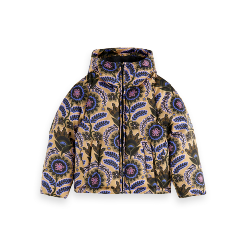 Scotch & Soda All-over printed jacket with Repreve® filling 162930