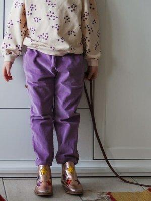 Velvet Trousers lilac