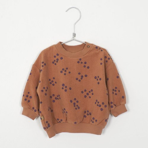 Baby sweatshirt BLUEBERRIESPEACH