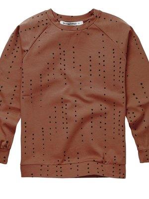 mingo Long Sleeve Dewdrops on Burnished Leather -