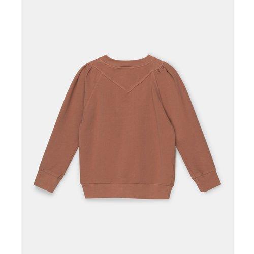 my little cozmo Fleece brown kiss sweater