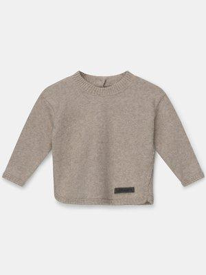my little cozmo Soft knit sweater beige