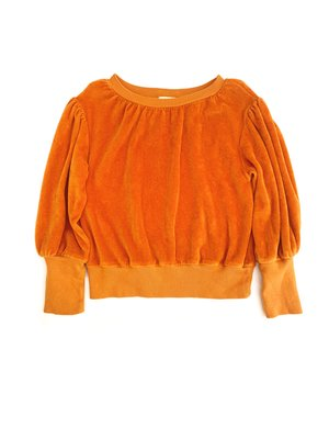 Long live the queen puffed sweater 816 marmalade