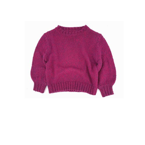 Long live the queen rough sweater 809 wine twist