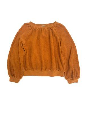 Long live the queen terry sweater 829 dessert