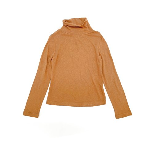 Long live the queen turtle neck tee 824 tan