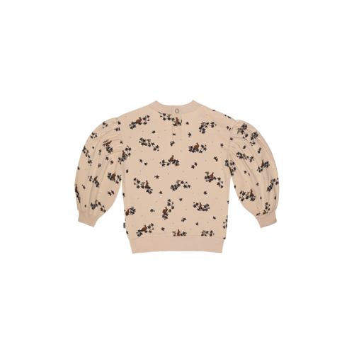 House of Jamie Balloon sweater forrest