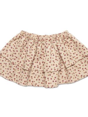 Petit blush Mini Layer Skirt Mini Ditsy Print