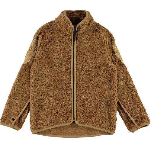 Molo Ulan sandstone fleece jacket