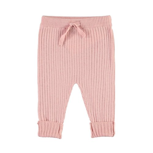 Molo Shadow rosequartz knitted pants