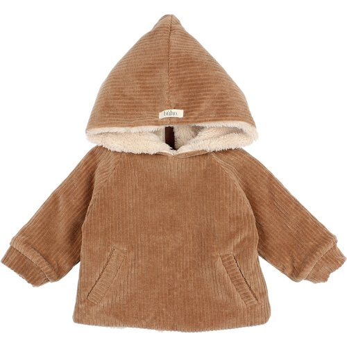 Buho Baby velour jacket muscade