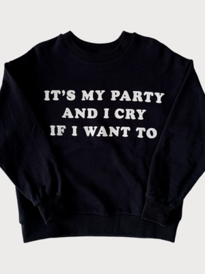 Maed for mini Its my party / Sweatshirt