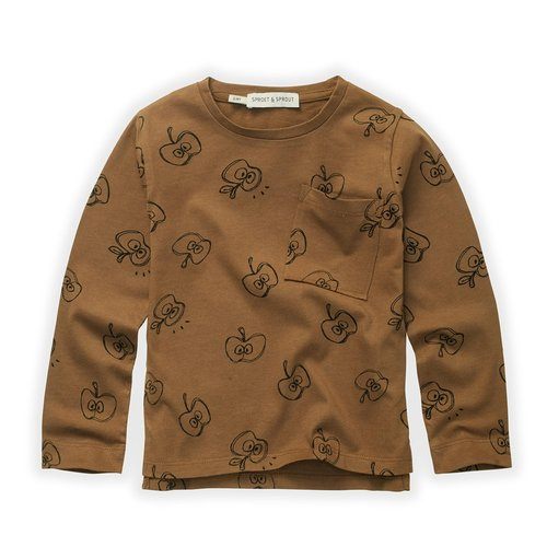 Sproet&Sprout T-Shirt Apple Print (W21-852)