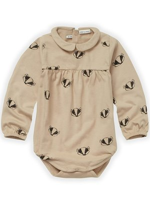 Sproet&Sprout Romper Collar Badger Print (W21-954)