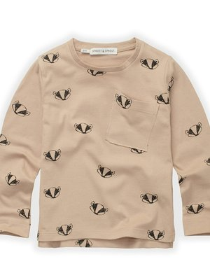 Sproet&Sprout T-Shirt Badger Print (W21-851)