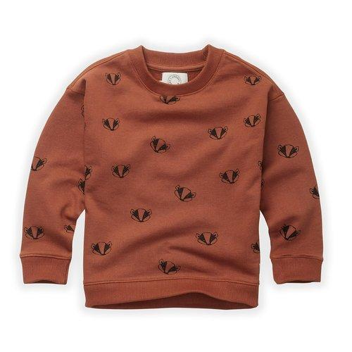 Sproet&Sprout Sweatshirt Badger Print (W21-871)