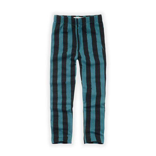 Sproet&Sprout Legging Painted Stripe Pine Green (W21-942)
