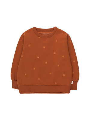 Tiny cottons SQUIRRELS SWEATSHIRT dark copper/true brown
