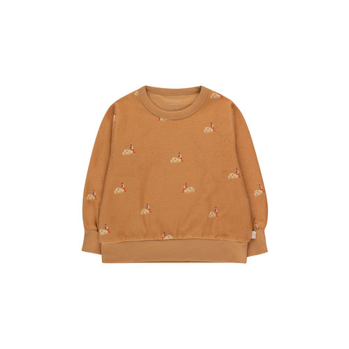 Tiny cottons SWANS SWEATSHIRT clay/cappuccino