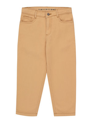 Tiny cottons SOLID BAGGY JEANS toffee