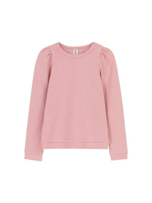 Kids on the moon Lena puff top pink