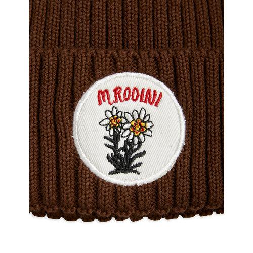 Mini rodini Edelweiss pompom hat