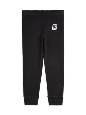Mini rodini Microfleece trousers black