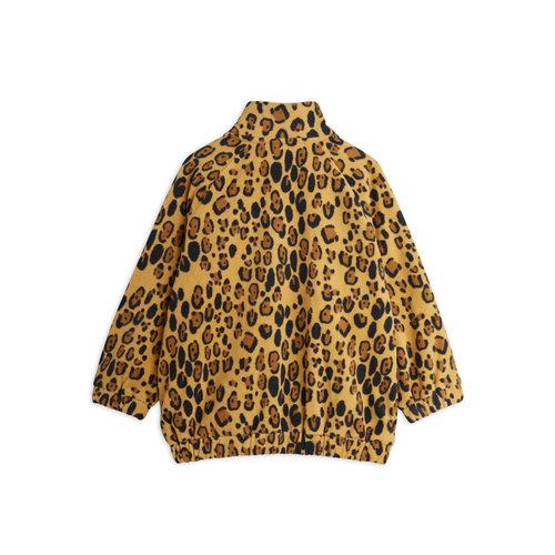 Mini rodini Leopard fleece jacket