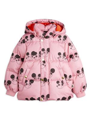 Mini rodini Ritzratz puffer jacket pink