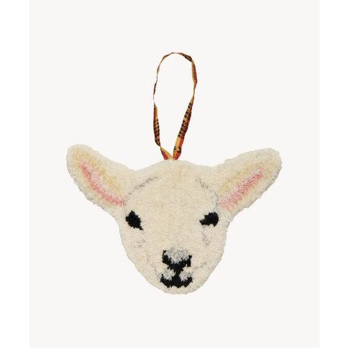 Doing goods Woolly Lamb Gift Hanger