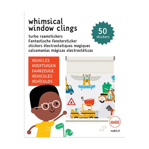 Makii Window clings Vehicles